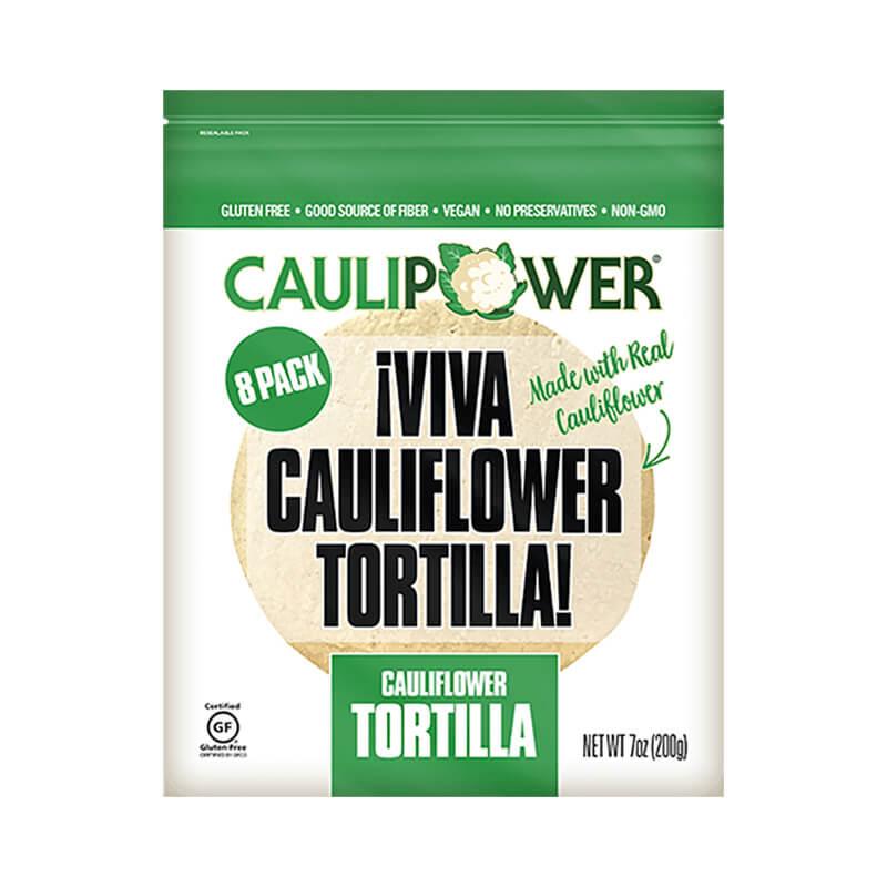 Caulipower Viva Cauliflower Tortilla Wraps Gluten Free
