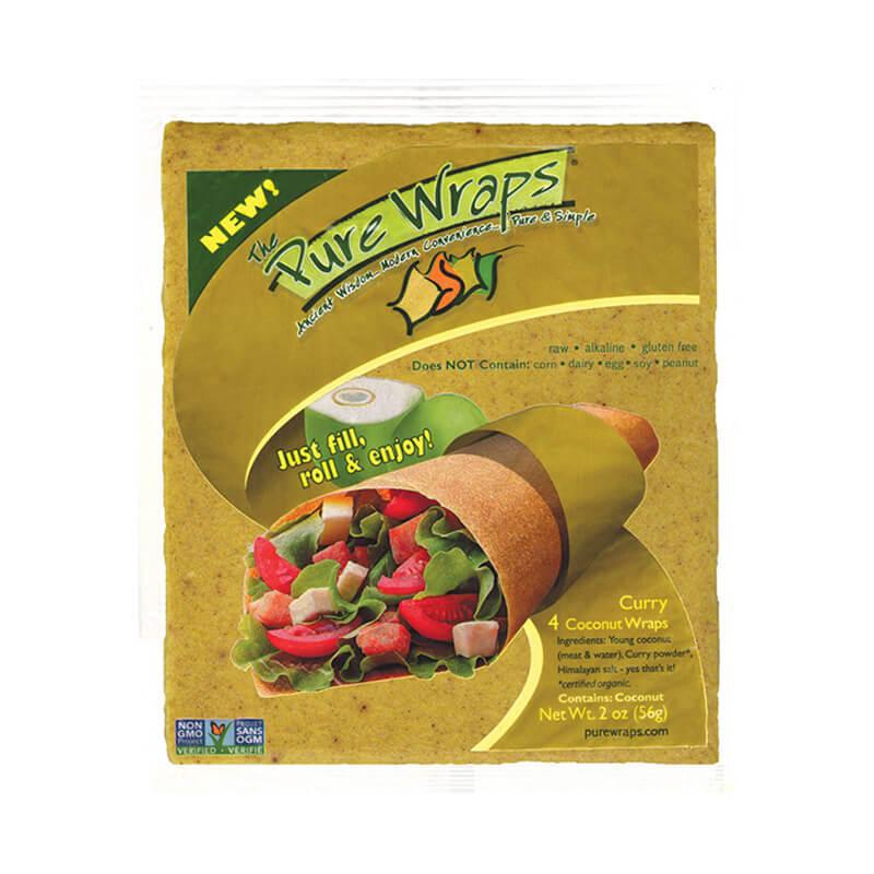 Pure Wraps Gluten Free Coconut Wraps