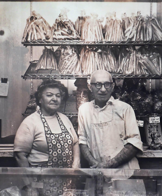 Grandfather and Grandmother Toufayan